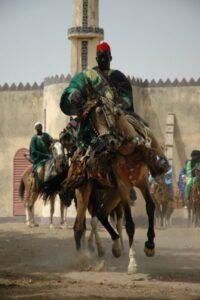 Horse dancing at Fechiba